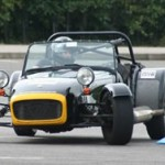 Silverstone driving experience in a Caterham