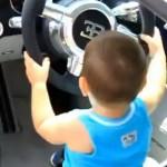 Baby in Bugatti Veyron